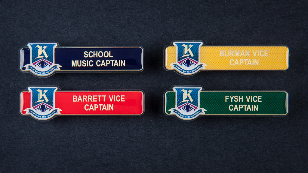 Music captain and other captain badges