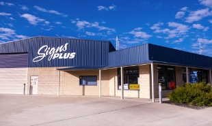 Signs Plus current building in Swan Hill