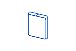 domed computer badge sticker icon