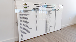 Custom made honour boards