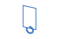 custom motel key tag icon
