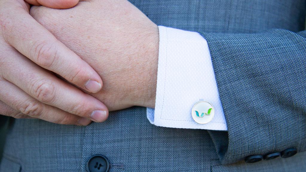 High end custom cufflinks
