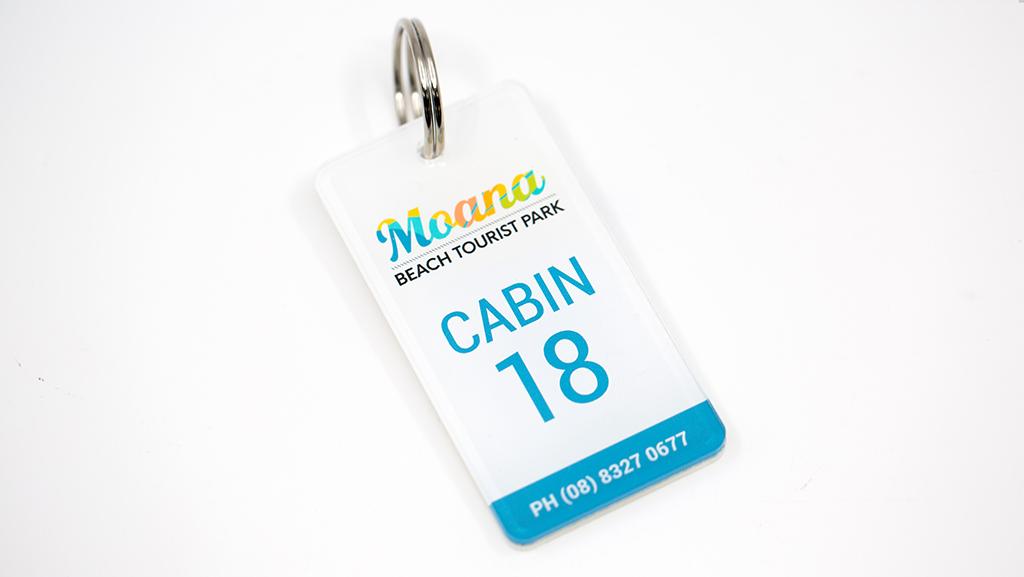 Custom key tags for business