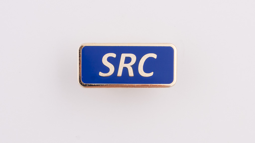 Student representative council pin, hard enamel