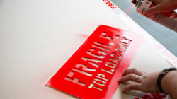 Made to order safety stencils