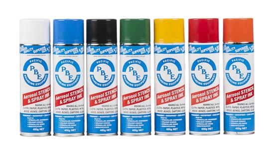 Stencil Paint Colours