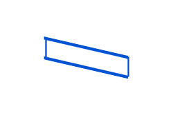 ticket strip isometric icon