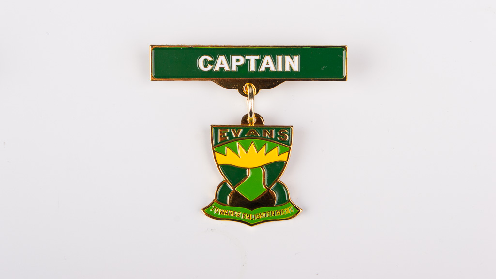 A title bar badge for a school Captain.