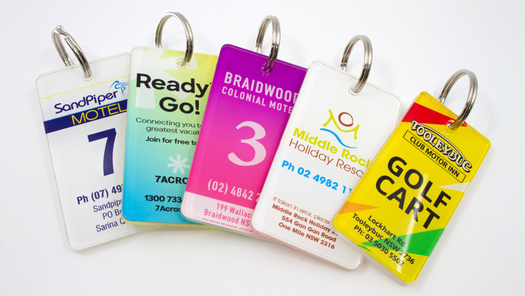 key tags for hotel rooms